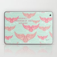 FINALLY! Whales are free from persecution! Laptop & iPad Skin