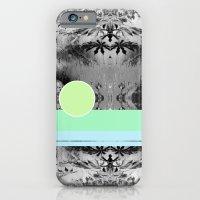 green circle iPhone 6 Slim Case