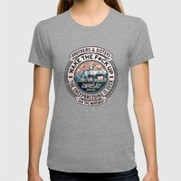 The Awaken Sheep (varian… Womens Fitted Tee Tri-Grey SMALL