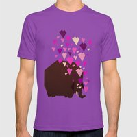 last mammoth Mens Fitted Tee Ultraviolet SMALL