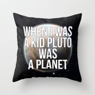 When I Was A Kid... Throw Pillow