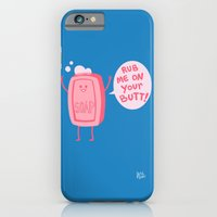 iPhone Cases featuring Lil' Soap by Jessica Fink