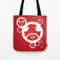 RED - Type Face Tote Bag