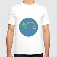 Growave Mens Fitted Tee White SMALL