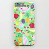 iPhone Cases featuring Fruit Punch by Lisa Argyropoulos