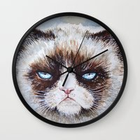 Tard The Cat Wall Clock