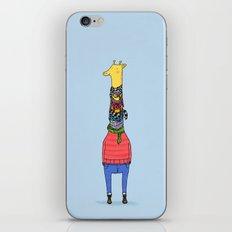 Scarf Lover iPhone & iPod Skin