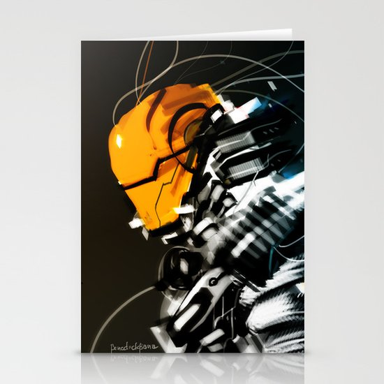 Wired Custom 13 Stationery Card