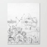 Elbow Canvas Print