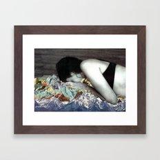Blankets Framed Art Print