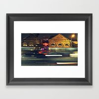 Hard Rock Cafe Framed Art Print