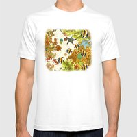 The Great Barrier Reef Mens Fitted Tee White SMALL