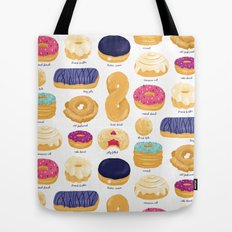 Donut Identification Tote Bag