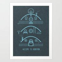Welcome to Hobbitron Art Print
