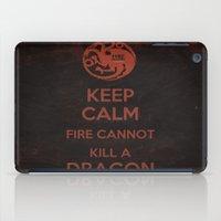 Keep Calm - Game Poster 03 iPad Case