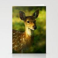 Indian Deer Stationery Cards
