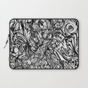 Conquer (Black & White Version)  Laptop Sleeve