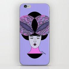 dragonfly geisha iPhone & iPod Skin