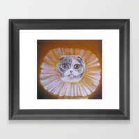 Chauncey Von Whiskerman Framed Art Print