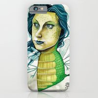 iPhone & iPod Case featuring LOVELY CREATURE by busymockingbird