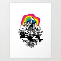 Zoonimal Art Print