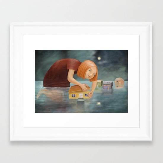 Inquisitive Framed Art Print