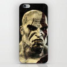 kratos iPhone & iPod Skin