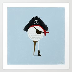 Pirate of the Open Tees Art Print