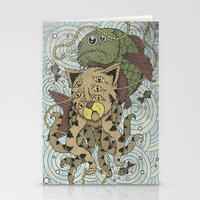 Mr Octopus & The One Tha… Stationery Cards