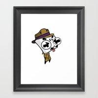 Rorschach GIR Framed Art Print