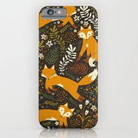 iPhone & iPod Case featuring Fox Tales by Anna Deegan