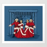 May Your Days Be Merry A… Art Print