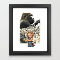 You Don't Know The Half … Framed Art Print