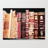 Canvas Print featuring Books1 by Regan's World