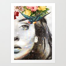 Holy Adele (right) Art Print