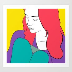 FIONA APPLE Art Print