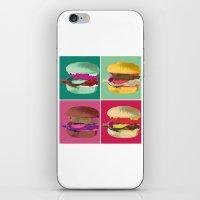 Pop Art Burger #2 iPhone & iPod Skin