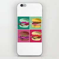 Pop Art Burger #2 iPhone & iPod Skin