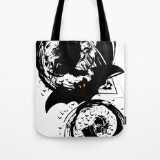 Bats ink splash Tote Bag