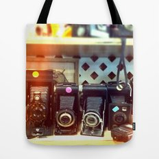 Camera Shop Tote Bag