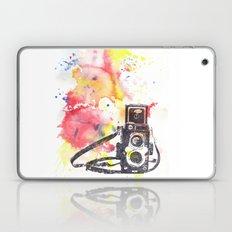 Vintage Rolleiflex Camera Painting Laptop & iPad Skin