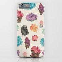 iPhone & iPod Case featuring Raw Gems by Eine Kleine Design Studio