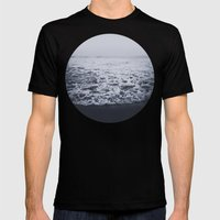Out to Sea Mens Fitted Tee Black SMALL