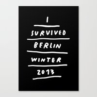 BERLIN 2013 Canvas Print