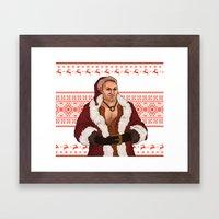 Very Merry Varric Framed Art Print