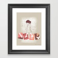It's A Long Way Home Framed Art Print