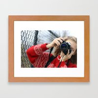 Heart Skipped A Beat Framed Art Print
