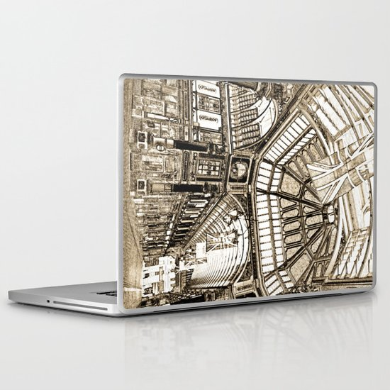 Leadenhall Market London Laptop & iPad Skin