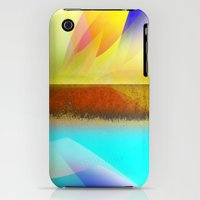 iPhone 3Gs & iPhone 3G Cases featuring august days 2c by David Mark Lane