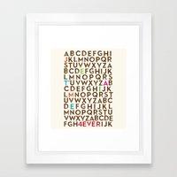 Je T'aime 4 Ever Framed Art Print